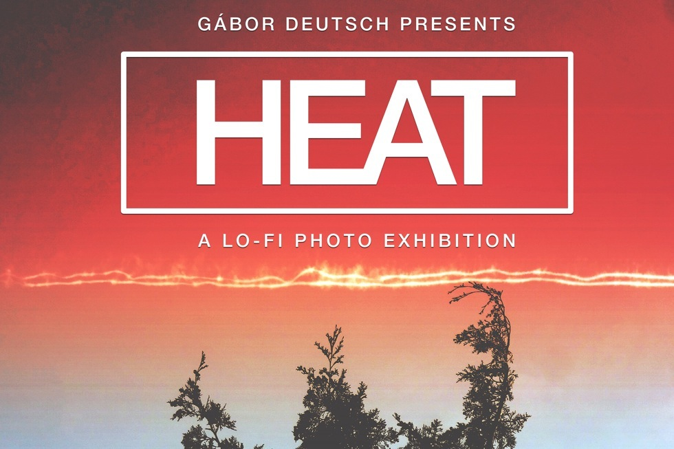 HEAT exhibition cover   Budapest, Design Temrminal 2015